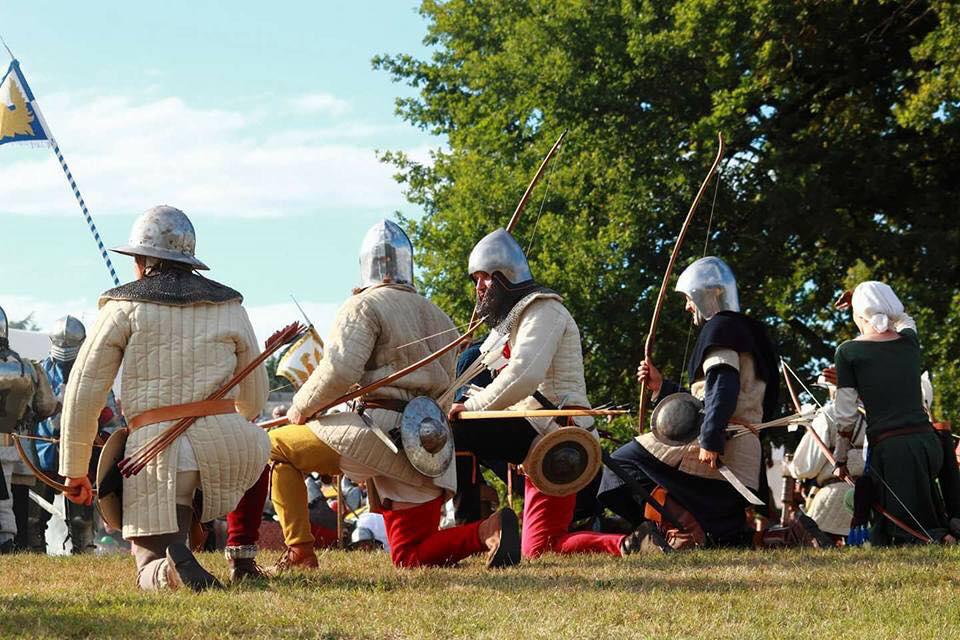 Anglická lukostrelecká jednotka
